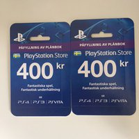 Playstation network card (400 kronors)