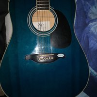 SX CUSTOM GUITAR BLUE