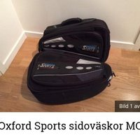 Oxford Sports sidoväskor mc nya