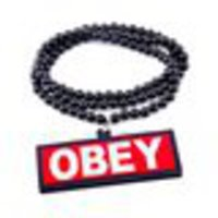 OBEY Beads Necklace