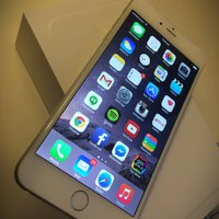 Iphone 6. Gold vitt 16 gb olåst