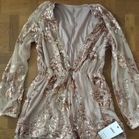 Eftertraktad playsuit