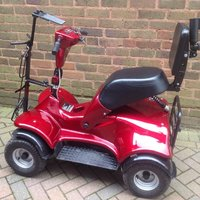 i-m4 golfbuggy RED-3 x 80AH batterier