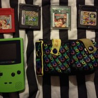 Gameboy color + spel