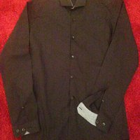"Black shirt from ""Cedar Wood State"""