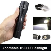 G700 X800 Sky Wolf eye CREE XM-L C8 T6 LED Military Grade Zoom flashlight