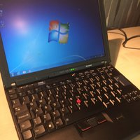 Superlätt Lenovo Thinkpad X200 (2.4GHz/4GB/300GB/Win 7)