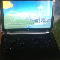 Hp pavilion laptop med full screen touch