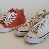 Tyg sneakers 20:- st