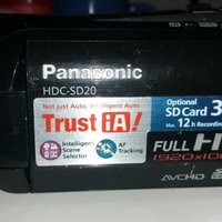 Panasonic HDC SD20