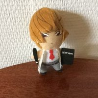 Death Note Light figur nyckelring