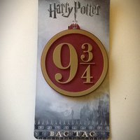Harry potter Bag tag