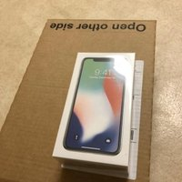Apple iPhone X Silver 64gb oöppnad kvitto