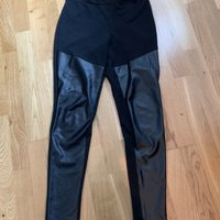 Leggings skinn st .36