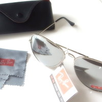 Ray-Ban Aviator RB3025 - Silver mirror