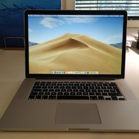 MacBook Pro 15 tum Retina Intel i7 2,2 Ghz 16gb DDR3L ram 256gb SSD