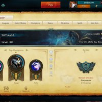 League of legends account euw 30