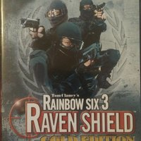 Tom Clancy's Rainbow six 3 Raven shield Gold edition