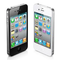 iphone vit 4S svart iphone 4-