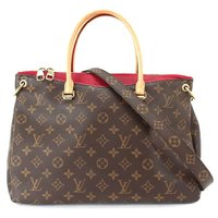 LOUIS VUITTON Monogram  Hand Bag Red 90043417!!!Helt NY