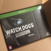 Watch Dogs Dedsec Edition XBOX ONE spel NYTT och INPLASTAT !!!