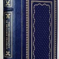 SALE! THE AUTOBIOGRAPHY OF BENJAMIN FRANKLIN in Franklin Library edition