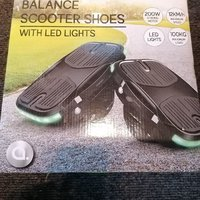 Balance Scooter Shoes, With lights