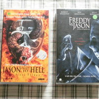 Jason Goes To Hell + Freddy Vs Jason. 2 st Vhs. Ex Rental.