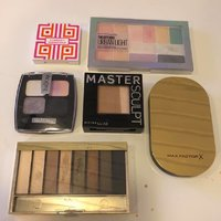 Make up smink max factor, Maybelline, IsaDora, clinique