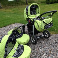 3st Kunert Proffesional baby trolley