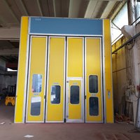 Used paint booth size 12x5x5 meters (n.6)