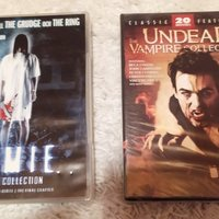 DVD-boxar: Tomie (4 DVD Collection) - 30 kr och Undead: The Vampire Collection 20 movies - 50 kr