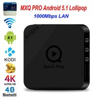 TV BOX-PRO * NETFLIX 4K TV Box Quad-core Android 5.1 WiFi 2.4GHz 1GB RAM 8GB