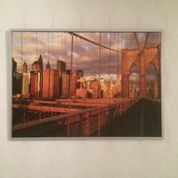 Brooklyn Bridge Tavla (stor)