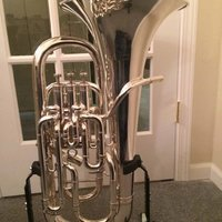 Besson Sovereign Series kompenserar Euphonium Silver
