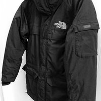 The North Face, svart vinterjacka