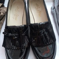 Loafers i lack.