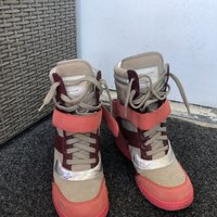 Marc Jacobs Nabuck Grey fashion sneakers