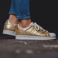 Adidas superstar limited edition guld paljetter