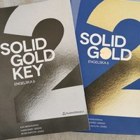 Solid gold 2 med key häfte