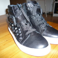 A Beautiful Italian Staccato shoes, black  size 5, storlek 35
