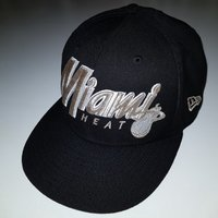 Miami Heat (Black & Silver edition) cap original