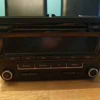 VW RCD 310 bilradio