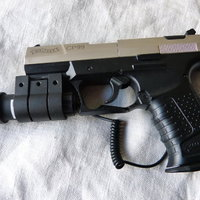 Walther CP99 CO2 Silver med Lasersikte