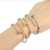 Cartier armbad silver. Guld rose