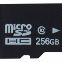 256GB Micro SD kort / Minneskort (klass 10) inkl adapter, INOM 2-3 DAGAR