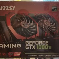MSI GeForce GTX 1080 Ti DirectX 12 GeForce GTX 1080 Ti GAMING X 11G 11GB 352-Bit