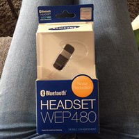 Bluetooth headset wep 480