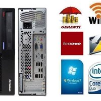 lenovo ThinkCenter + Wi-Fi Win 7 , Garanti + Office Paket