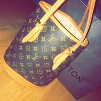 Lv-louis vuitton vintage äkta